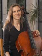 Ruth Berry - cello and Artistic Director of In Praise of Music
