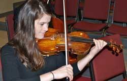 Eliza Hesse, violin