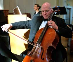 Justin Resley, cello