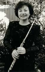Lorraine Jones, flute