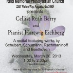 Duo Intermezzo - Reid Presbyterian - Berry and Eichberg