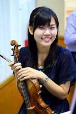 Ying-Li Pan, violin