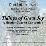 Duo Intermezzo - Aldersgate United Methodist Church