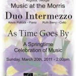 Duo Intermezzo - Music at the Morris Museum of Art