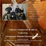 Magellan String Quartet - Covenant Presbyterian Church Concert Series