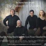 Lyra Vivace & Magellan String Quartet - Augusta Opera