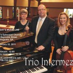 Trio Intermezzo - Tuesday's Music Live