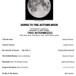 Trio Intermezzo - Songs to the Autumn Moon