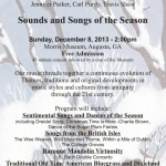 Event Horizons - Sounds and Songs of the Season