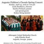 Augusta Children's Chorale Spring Concert