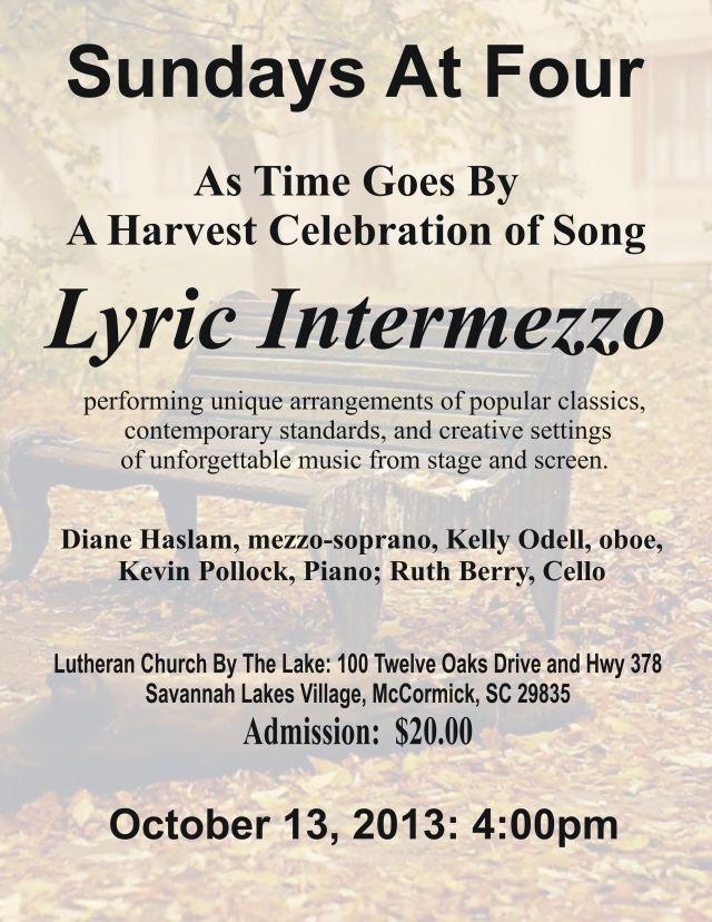 Lyric Intermezzo — In Praise of Music