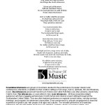 Lyric Intermezzo - Sundays at Four Program, page 2