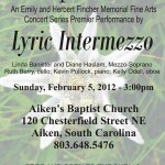 Lyric Intermezzo - Simple Gifts