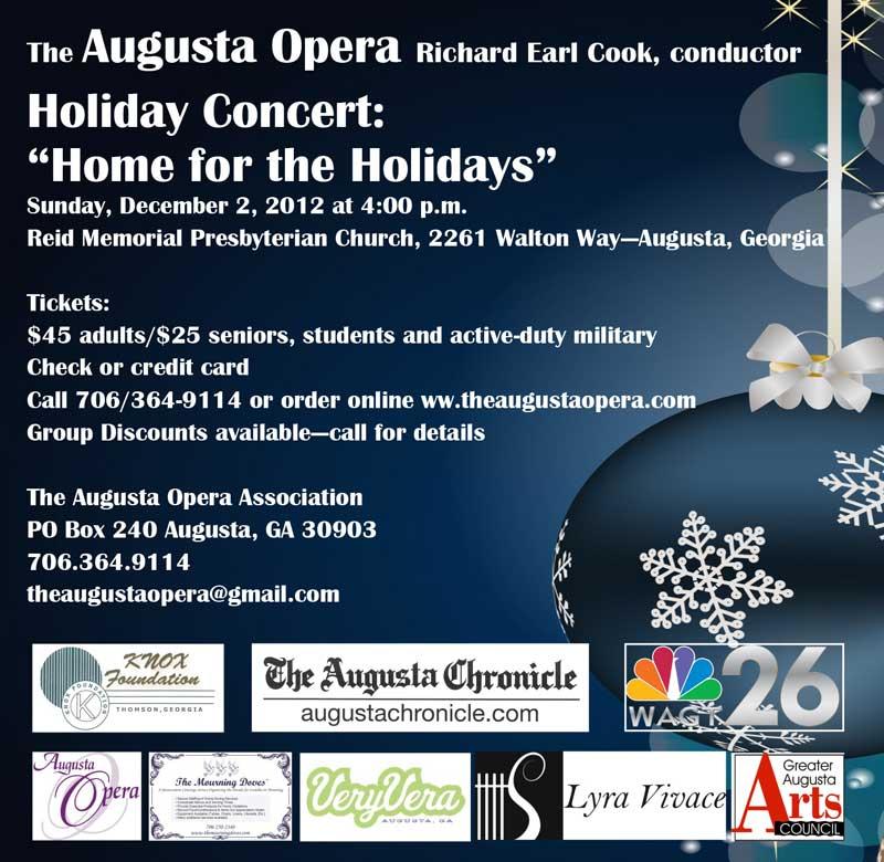 Augusta Opera Holiday Concert