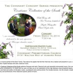 Continuo Collective of the South Covenant Concert Series Flyer