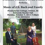Continuo Collective of the South - Music of J.S. Bach & Sons