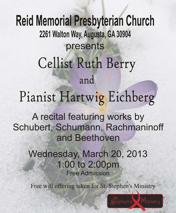 Ruth Berry & Hartwig Eichberg, 2013-03-20