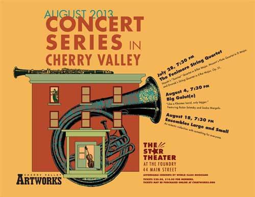 2013 Cherry Valley Concert Series