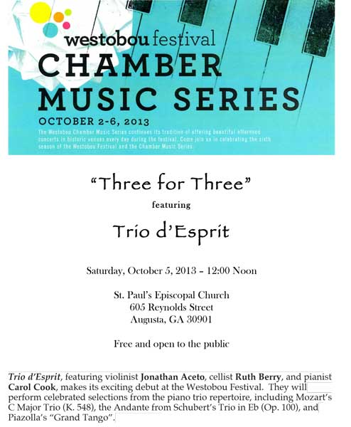 Trio d'Esprit - Three for Three