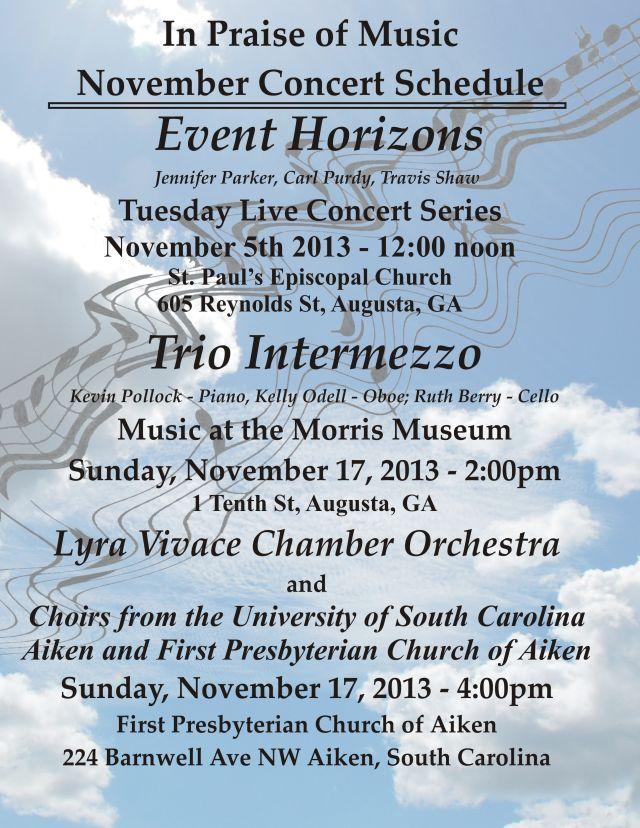 November Concerts