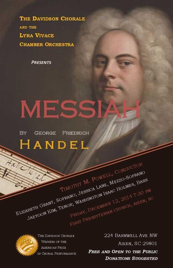 Davidson Chorale & Lyra Vivace: Handel's Messiah