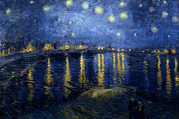 Starry Night Over the Rhone (Vincent van Gogh)