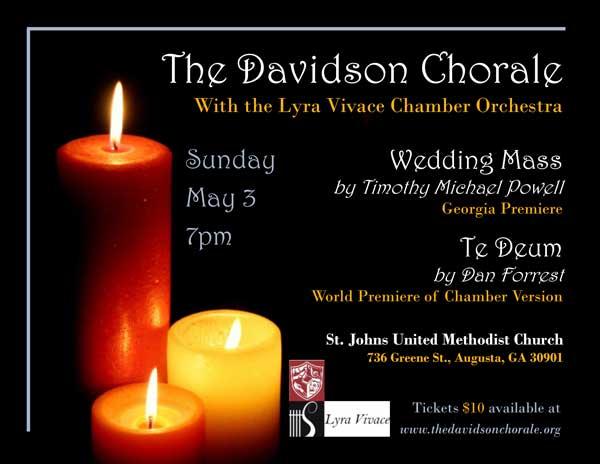 May 3: Davidson Chorale & Lyra Vivace