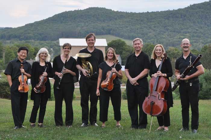 Schubert Octet musicians