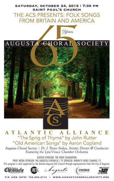 Lyra Vivace with Augusta Chorale Society