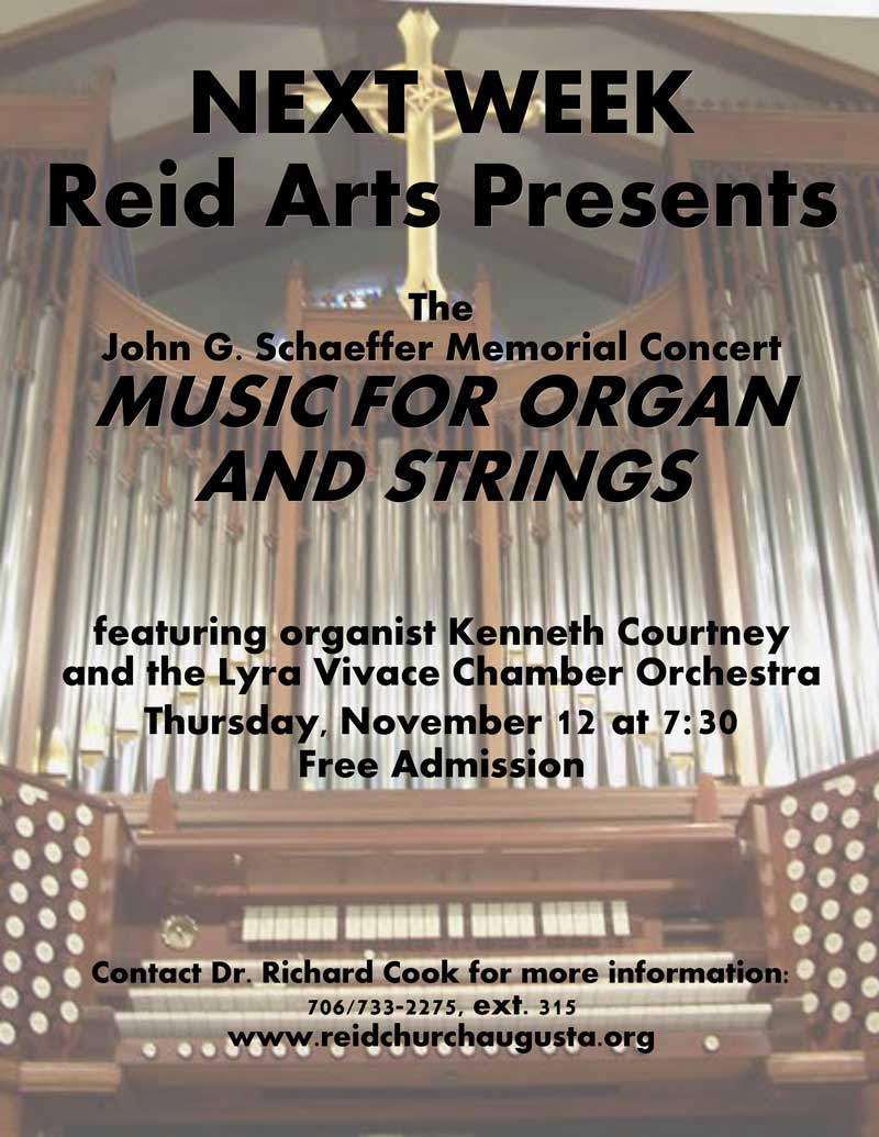 Music for Organ and String