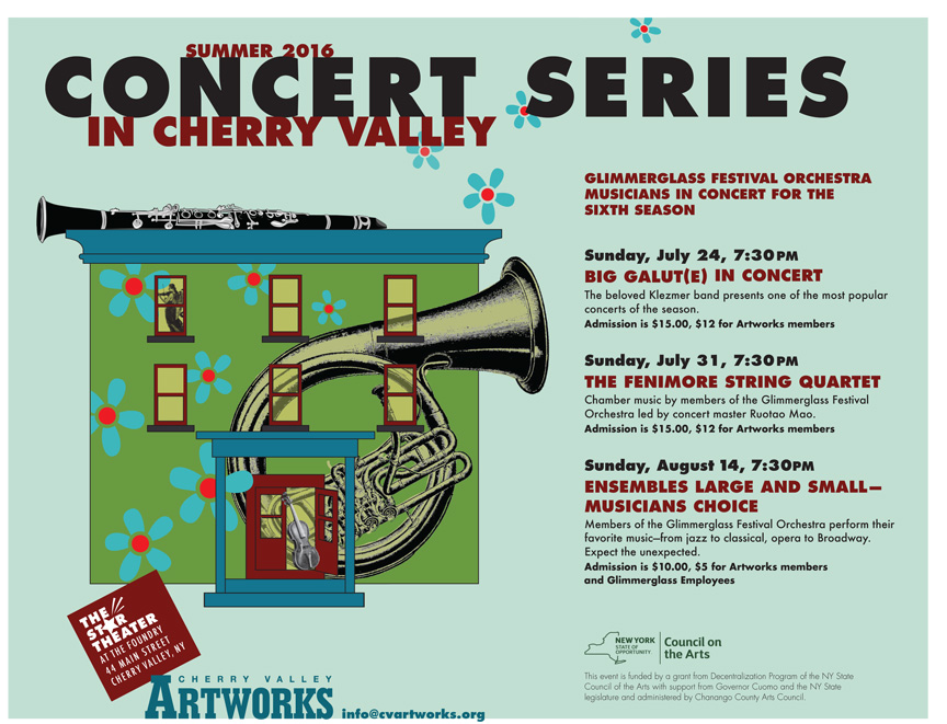 Cherry Valley Artworks Concert Series