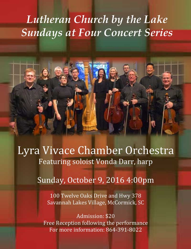 Sundays at Four: Lyra Vivace with Vonda Darr